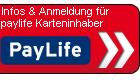 Infos & Anmeldung für paylife Karteninhaber