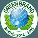 Green Brand Austria 2014/2015'