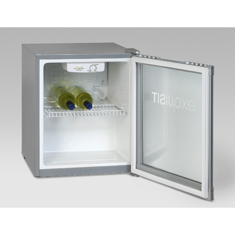 Exquisit KB 01 G /Silber Mini Kühlschrank mit Glastüre | eBay